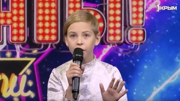 Суперфинал шоу «ТаланТы». Выступление Артёма Фокина