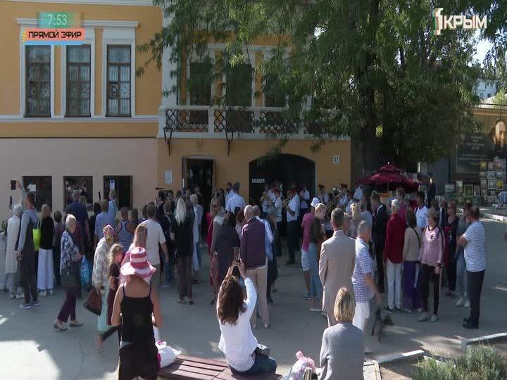 В Феодосии прошёл традиционный «Бал у Айвазовского»