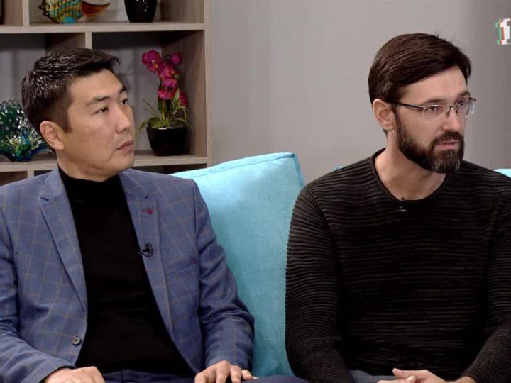 «Утро нового дня» В гостях Валентин Лобанов и Савр Катаев