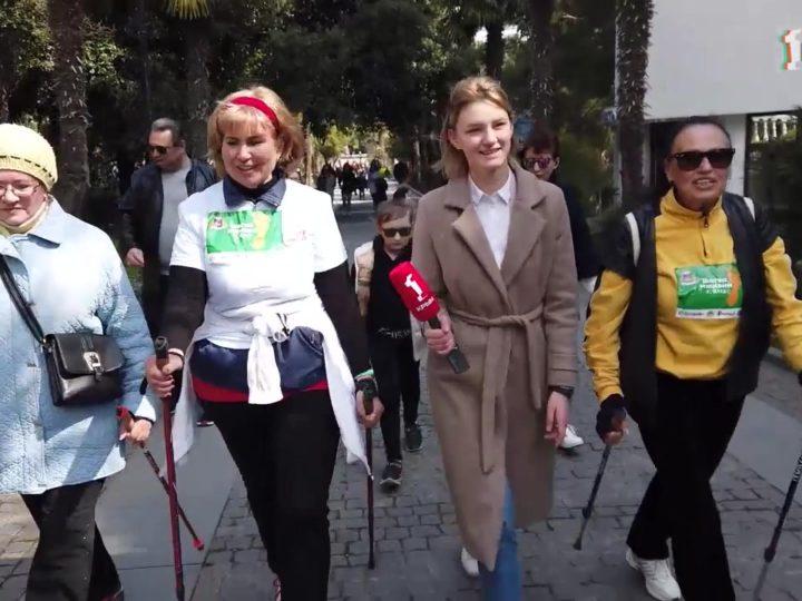 В Ялте прошла Всероссийская Акция «10 000 шагов к жизни»