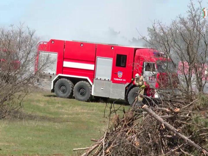 С 1 мая на полуострове объявлен особый-пожароопасный период