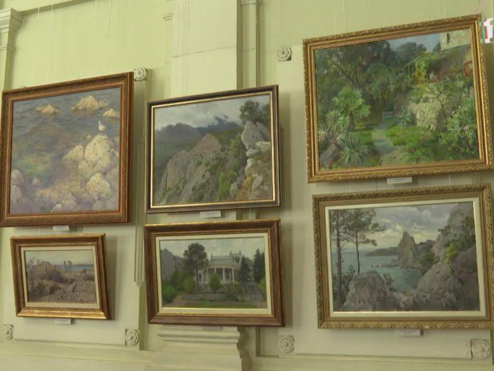 В Симферопольском художественном музее открылась выставка «От Херсонеса до Санкт-Петербурга»
